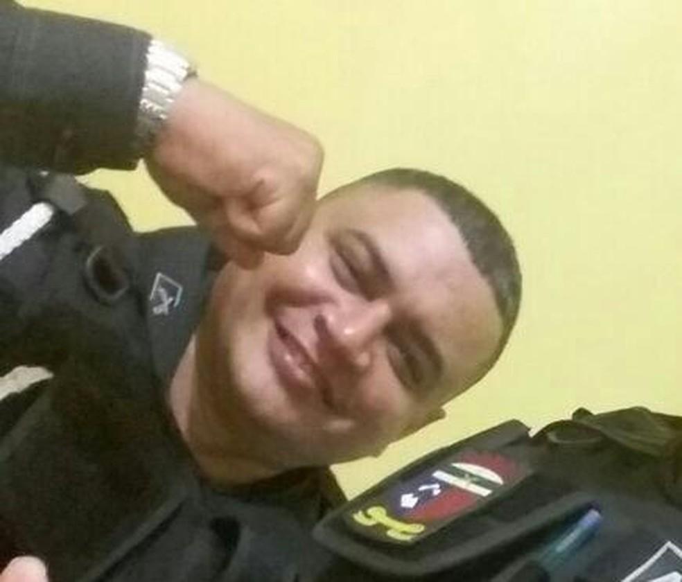 Policial militar Ildonio José foi morto entre Caraúbas e Mossoró, interior do RN — Foto: Reprodução/redes sociais