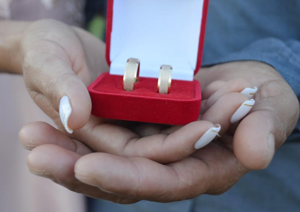 Casamento coletivo será realizado no dia 5 de novembro  — Foto: Geovane Brito/G1