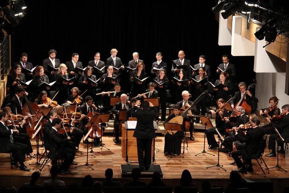 Concerto de Encerramento da Temporada da Camerata Antiqua de Curitiba — Foto: Prefeitura Municipal de Curitiba/Divulgação