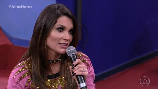 Flávia Alessandra explica por que fez faculdade de direito
