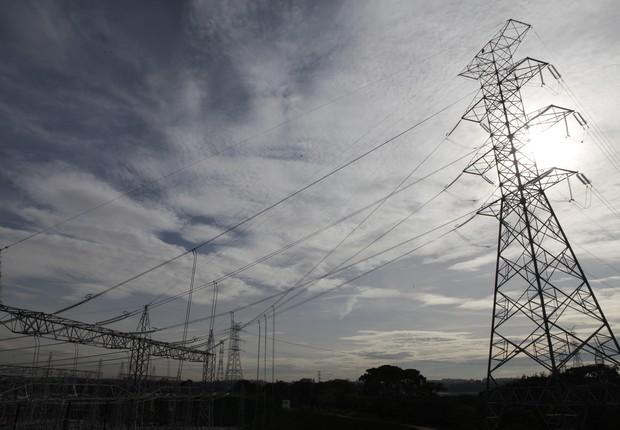Torre de transmissão da ISA CTEEP (Foto: Divulgação/ISA CTEEP)