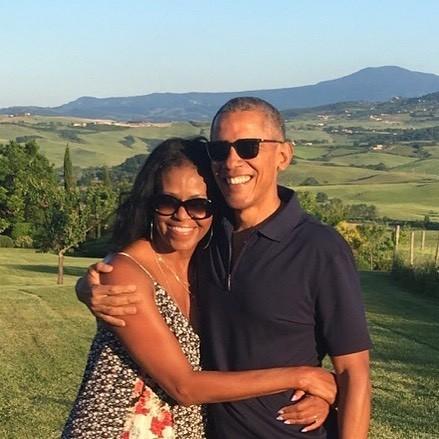 Michelle e Barack Obama (Foto: Reprodução Instagram)