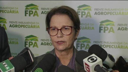 Futura ministra da Agricultura diz que pode absorver o Incra
