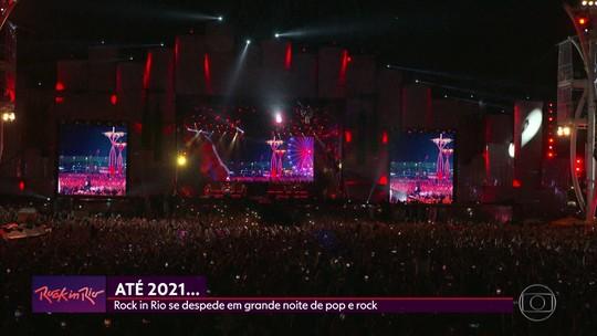 Rock in Rio se despede em grande noite de pop e rock