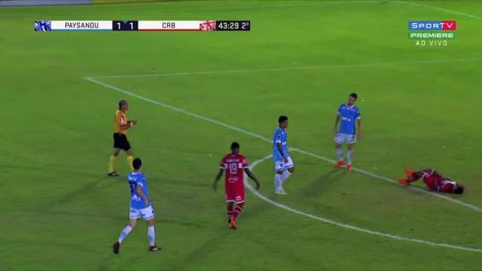 Volante Serginho reclama e lista erros de arbitragem nos últimos jogos do CRB