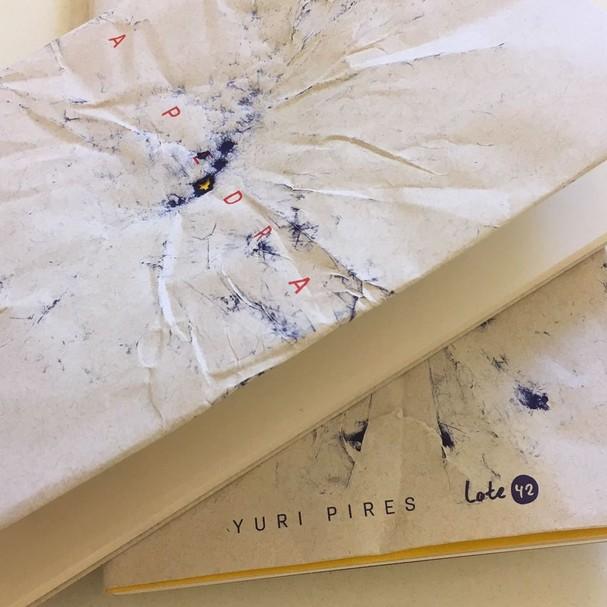 Livro A Pedra, da Lote 42 (Foto: Divulgação)