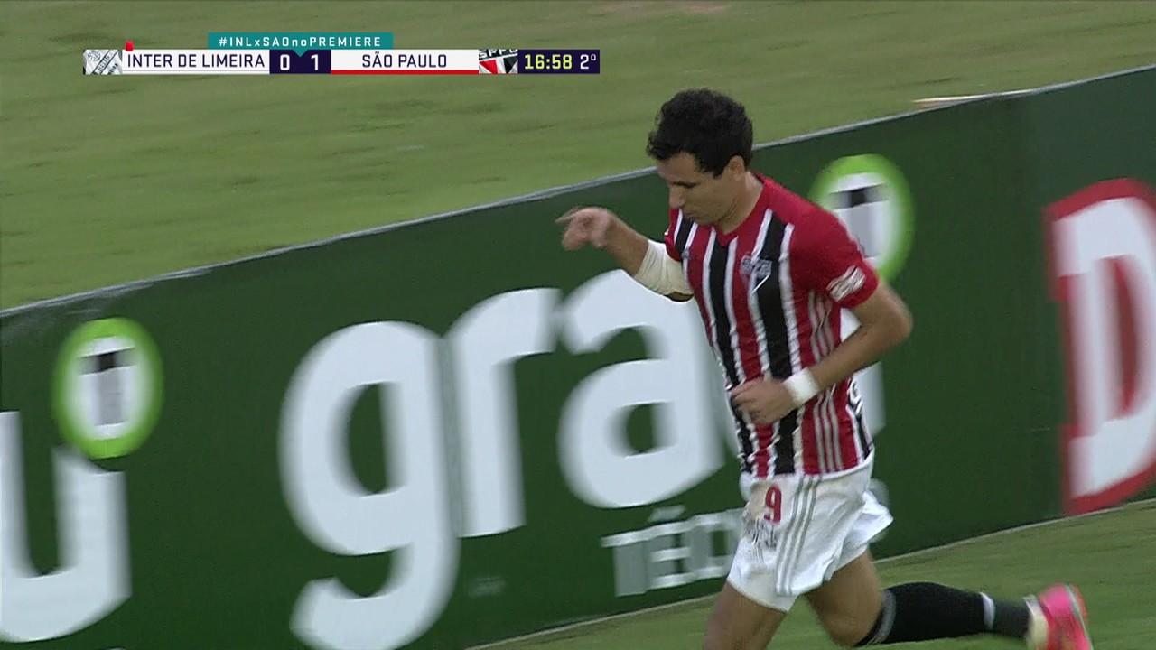 Pablo, em Inter de Limeira 0 x 4 São Paulo