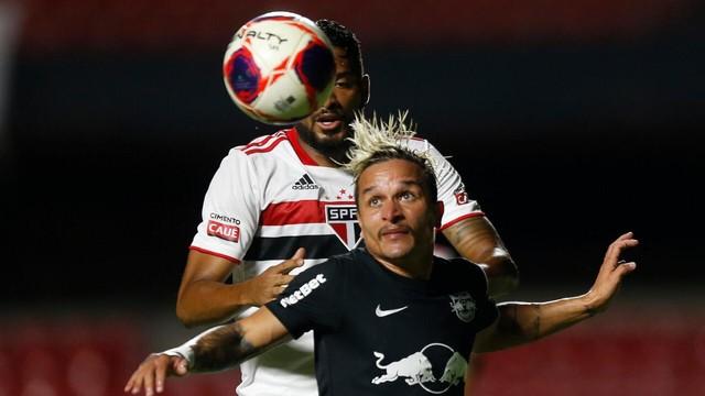 Artur e Reinaldo em São Paulo x Bragantino