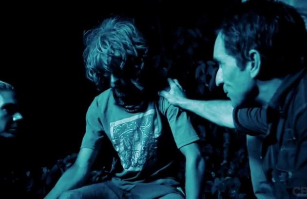 """Erik Reichenbach desabou durante o Conselho do """"Survivor: Caramoan"""". Ele estava desidratado e tinha uma infecção (Foto: Reprodução)"""