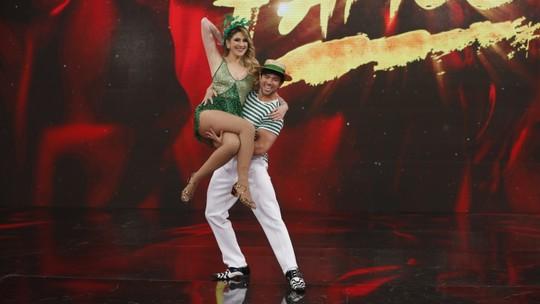 Dani Calabresa brinca após chegar à final do 'Dança dos Famosos': 'É uma surpresa'