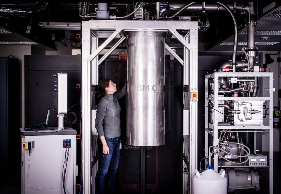 IBM apresenta computador quântico de 20 qubit (Foto: Divulgação/IBM)