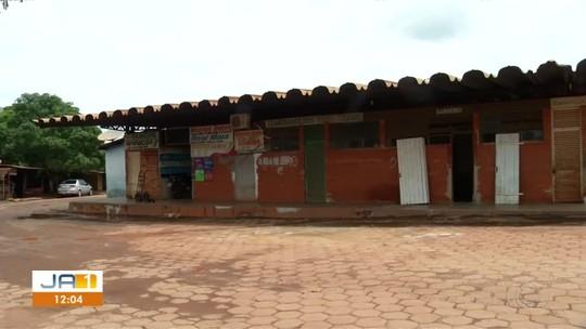 Após mais de 30 anos sem reforma, rodoviária de Miranorte tem vazamentos e mau cheiro