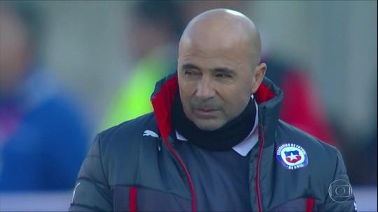 Jorge Sampaoli deve assinar contrato com o Santos neste fim de semana