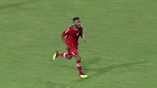 Willie marca primeiro gol com a camisa do CRB, mas time vacila e cede empate na etapa final