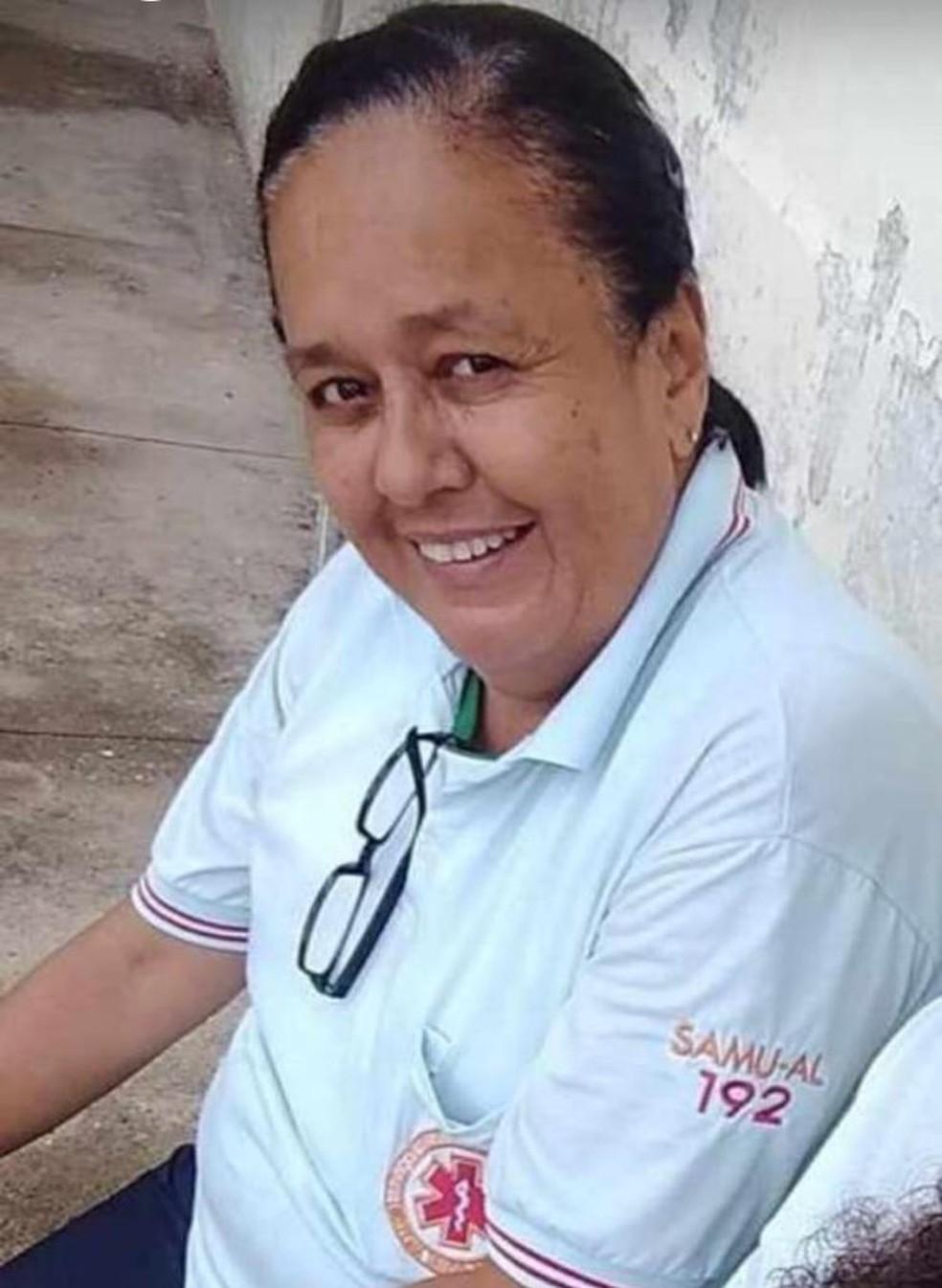 Funcionária do Samu em Alagoas morreu vítima do novo coronavírus — Foto: Arquivo Pessoal