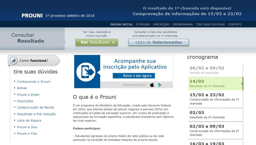 Sai a lista de aprovados do Prouni (Foto: Reprodução)