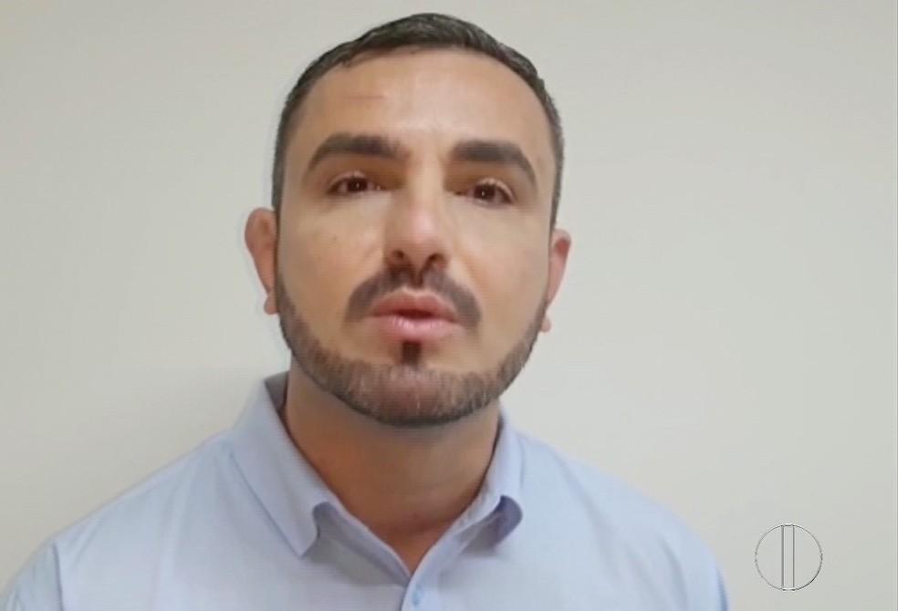 Ildefonso José Leite, candidato do PMB — Foto: Inter TV / Reprodução