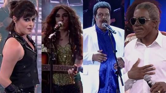 'Show dos Famosos': veja como foram os ensaios do Grupo 1 para a nona rodada
