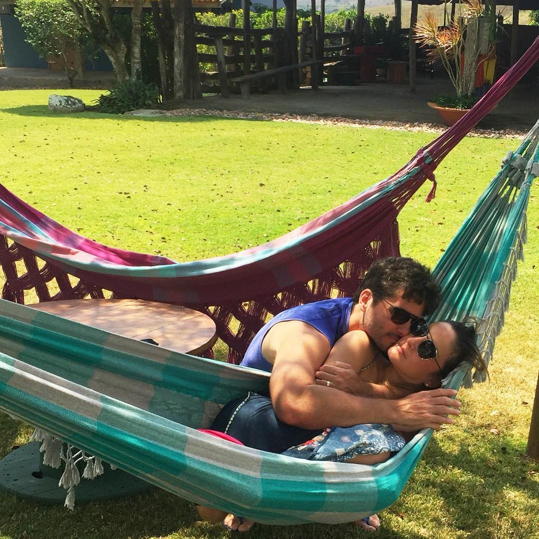 Claudia e  marido, Marcio Pedreira (Foto: Reprodução/Instagram)