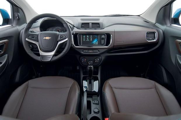 Chevrolet Spin LTZ automática (Foto: Divulgação)