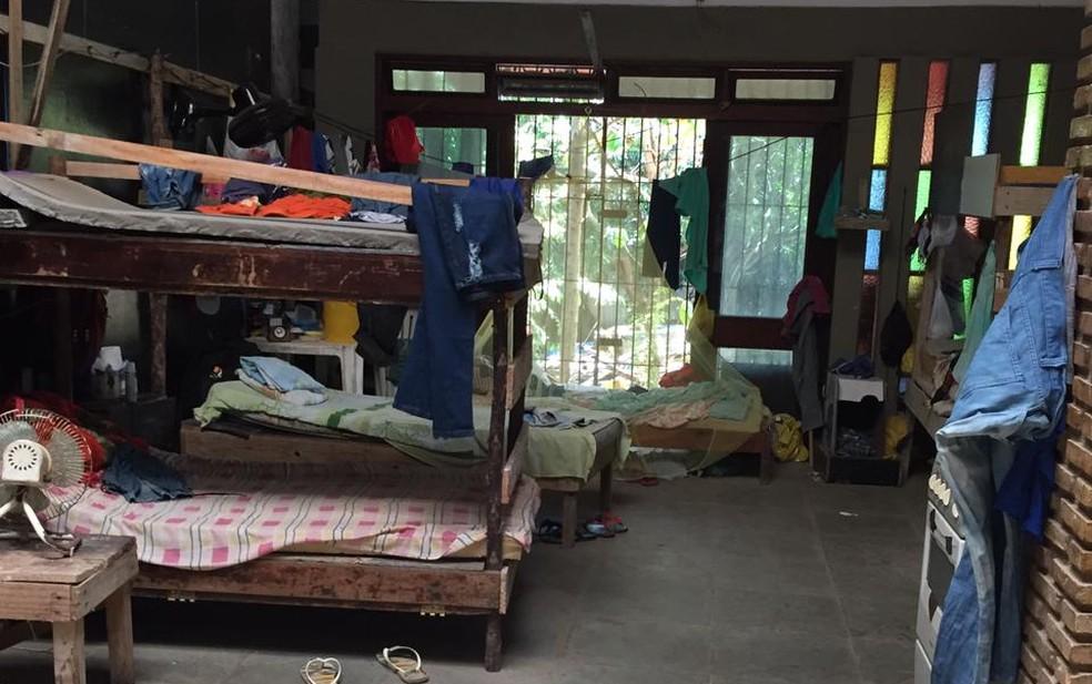Trabalhadores são resgatados em condições análogas à escravidão em Salvador. — Foto: Divulgação / Superintendência Regional do Trabalho (SRTb-BA)
