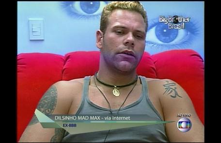 Dilsinho, primeiro participante a desistir do programa, pediu para sair da casa depois de ser rejeitado por Josiane Reprodução