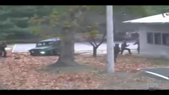 Vídeo mostra fuga impressionante de soldado da Coreia do Norte