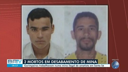 Desabamento de mina deixa dois mortos em cidade do norte da Bahia