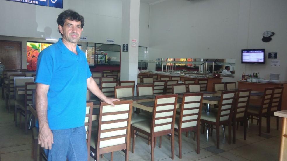 Rogério fez planejamento, escolheu um bom ponto comercial e gostou do resultado (Foto: Jesana de Jesus/G1)