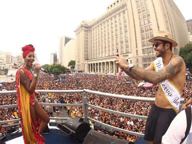 Ludmilla e Pedro Scooby  (Foto: Brazil News)