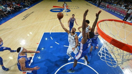 Melhores momentos: Brooklyn Nets 127 x 124 Philadelphia 76ers pela NBA