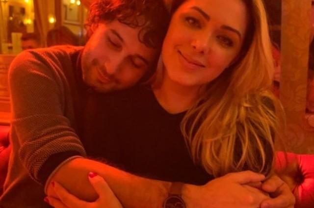 Rafael Almeida e Tânia Mara (Foto: Reprodução/Instagram)