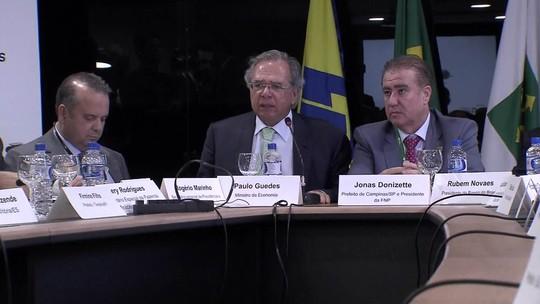 Ministro Paulo Guedes participa nesta terça-feira (26) de audiência pública na CCJ