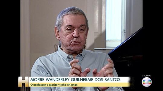 Morre no Rio o cientista político Wanderley Guilherme dos Santos