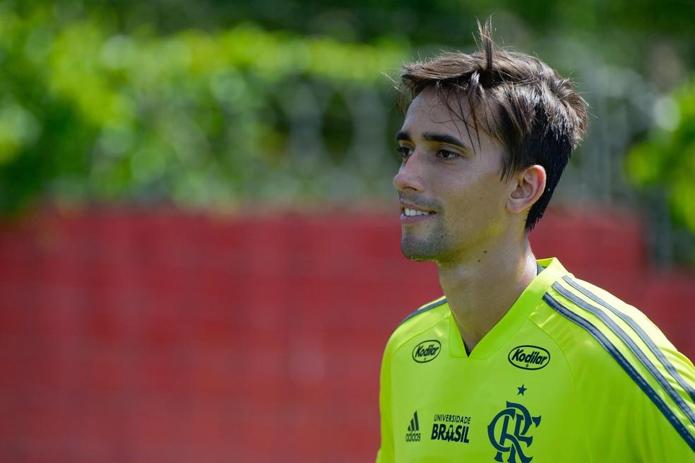 Cesar será novamente titular do Flamengo — Foto: Alexandre Vidal / Flamengo