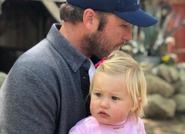 Bode Miler e a filhinha, Emeline (Foto: Reprodução Instagram)