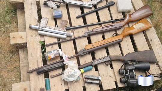 Homem suspeito de fabricar e vender armas é preso em Bragança Paulista