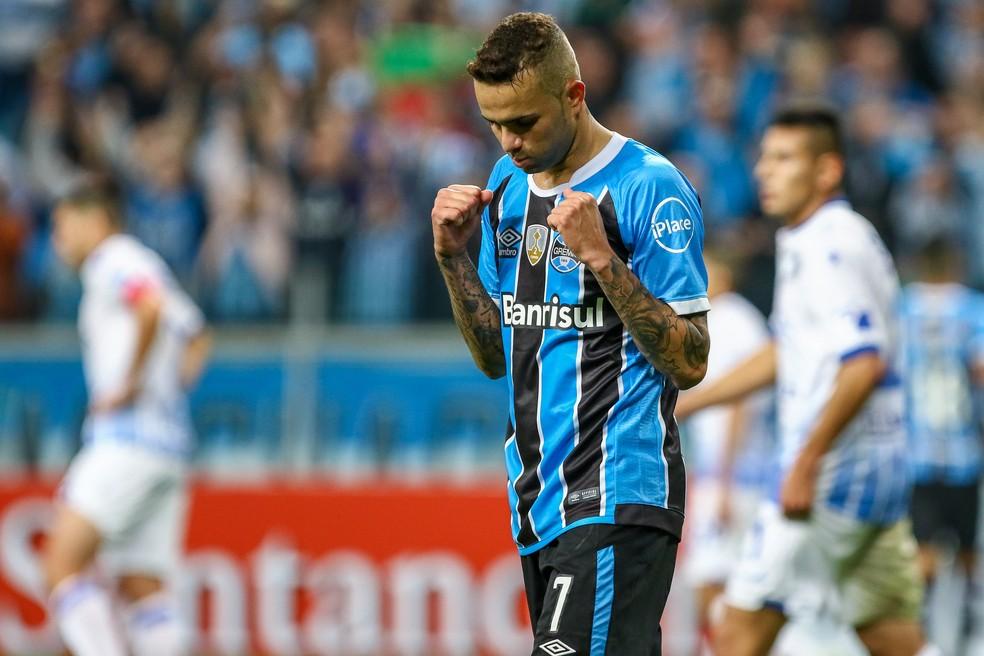 Luan tem primeira chance nas eliminatórias (Foto: Lucas Uebel/Grêmio)