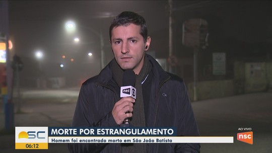 Polícia investiga morte de homem por estrangulamento na Grande Florianópolis