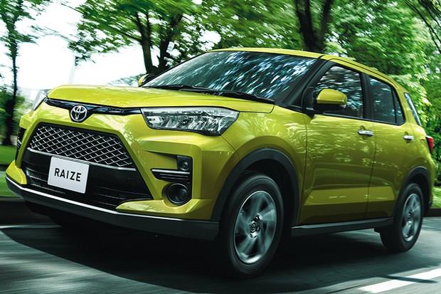 Toyota Raize (Foto: Divulgação)