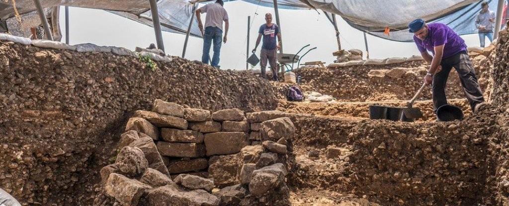 Escavações revelam a cidade de mais de 10 mil anos, em Jerusalém.  (Foto: Israel Antiquities Authority)