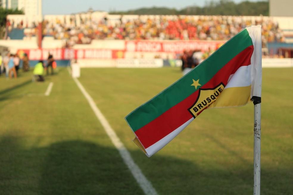 Estádio Augusto Bauer recebe Brusque x Sport — Foto: Lucas Gabriel/Brusque