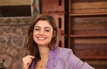 Sophie Charlotte interpretou a romântica Maria Amália, que se apaixona pelo bad boy Rafa (Marco Pigossi) TV Globo