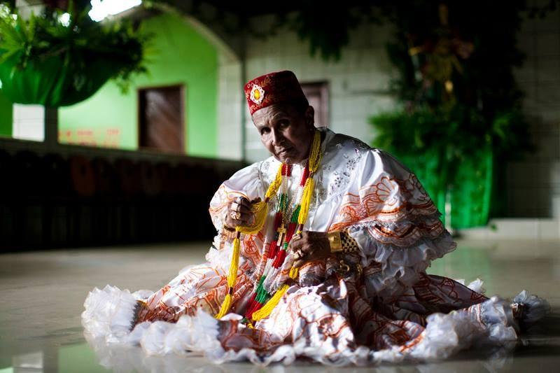 Corpo de umbandista Bita do Barão é velado no Maranhão