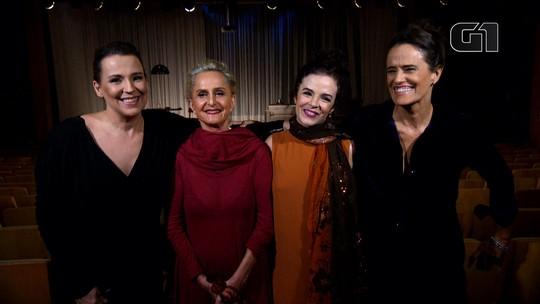 Ana Beatriz Nogueira, Regina Braga, Luciana Braga e Zélia Duncan estreiam comédia no Rio