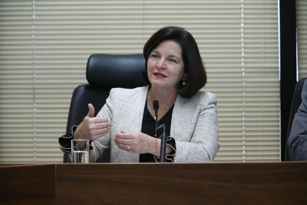 A procuradora-geral da República, Raquel Dodge, durante entrevista na sede da Procuradoria Geral da República, em Brasília (Foto: Dida Sampaio/ Estadão Conteúdo)