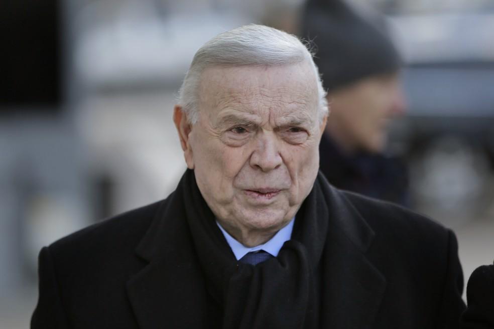 Ex-presidente da CBF, José Maria Marín (Foto: AP Photo/Seth Wenig)