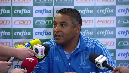 """Roger descarta relaxamento, elogia Palmeiras em empate, mas admite: """"A gente sempre espera mais"""""""