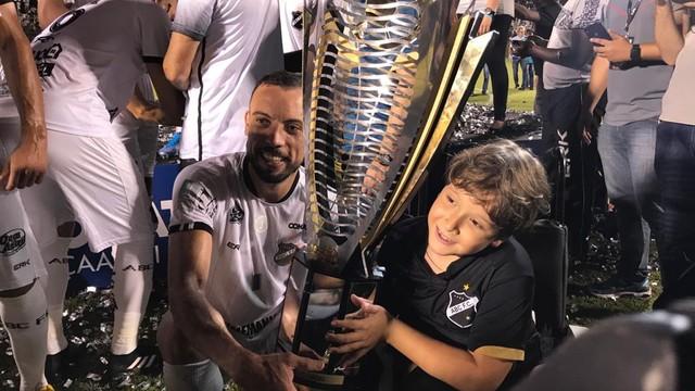 Paulo Sergio marcou o gol do título do ABC