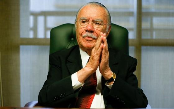José Sarney (Foto: Pedro Ladeira/Folhapress)